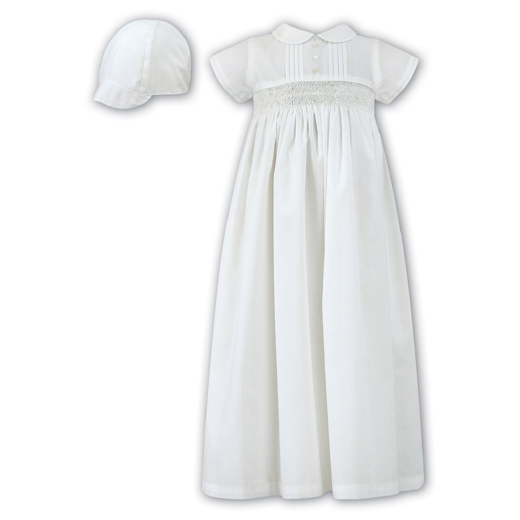 Sarah Louise White Robe BB001178