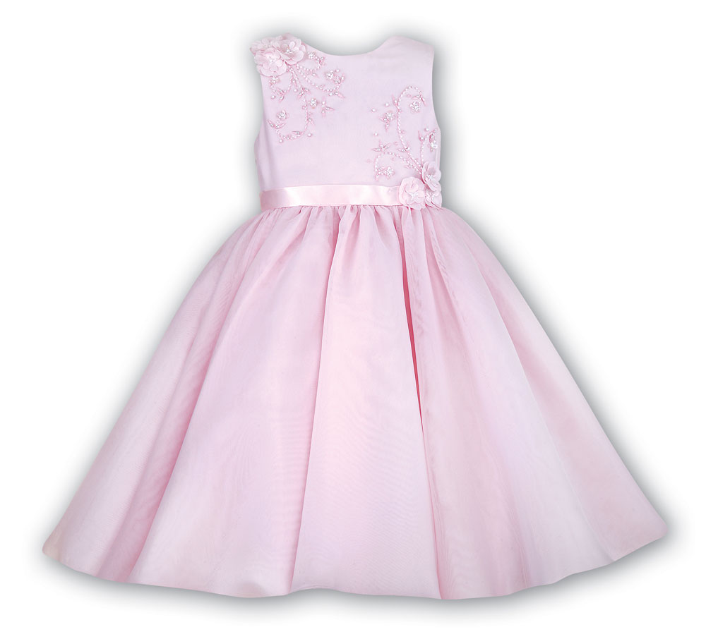 Sarah Louise -a- Flowergirl Dress Pink 070019G