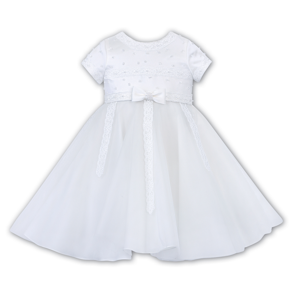 Sarah Louise -a- Flowergirl FG Dress white 070117