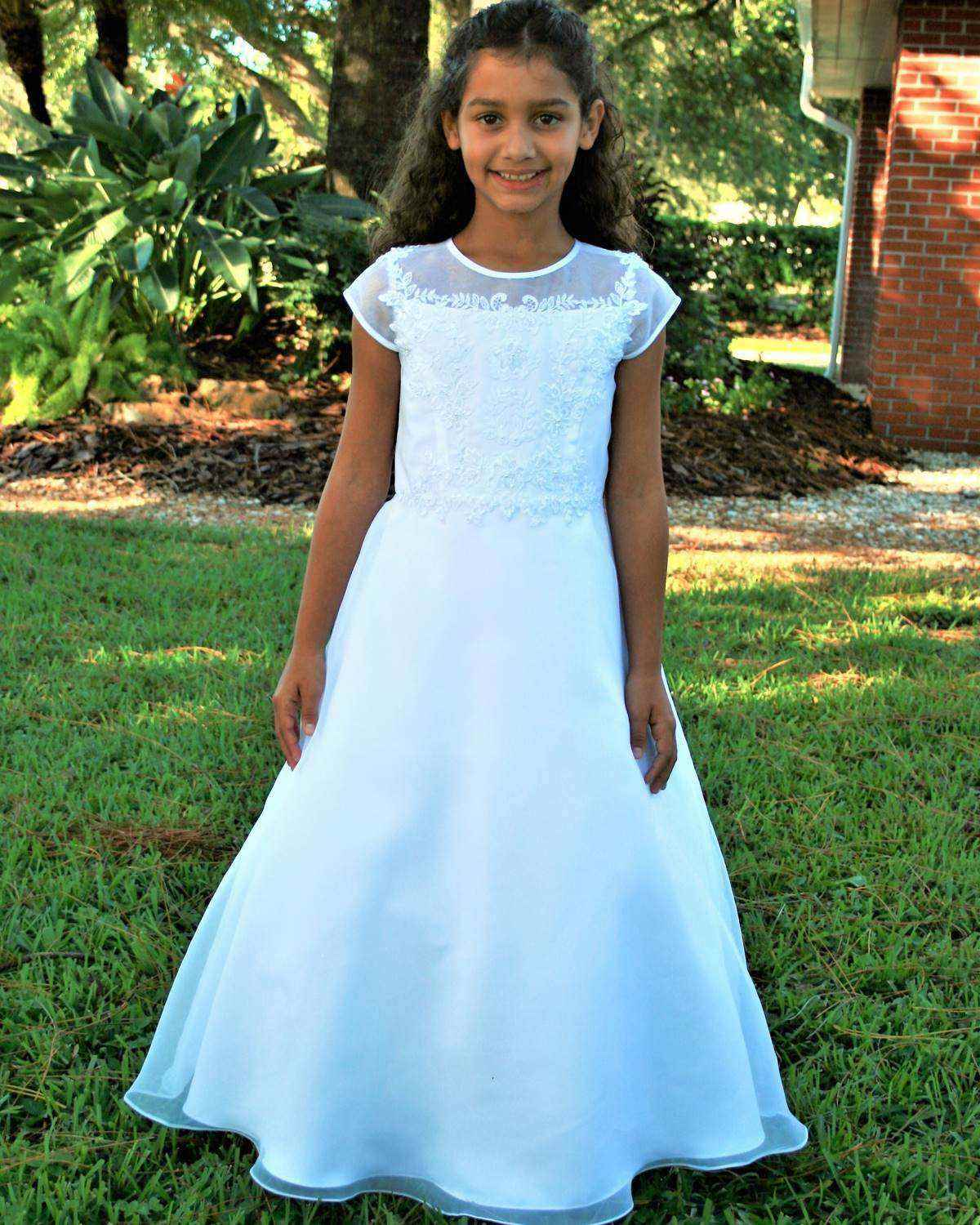 Sarah Louise -b- Communion dress 090036BG-1