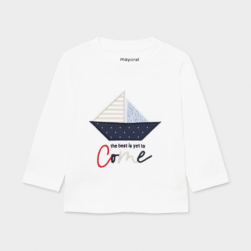 Mayoral -c- Boat White Top 1017