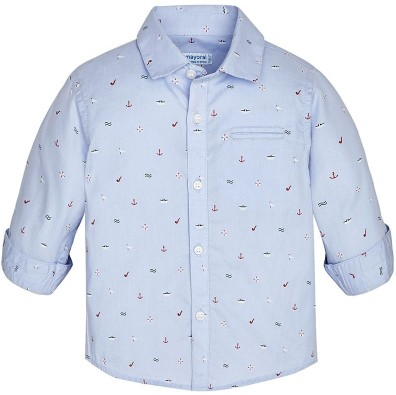Mayoral -n- Boating print Shirt 1174