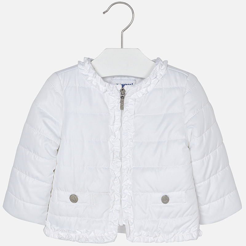 Mayoral -m White spring Jacket 1436