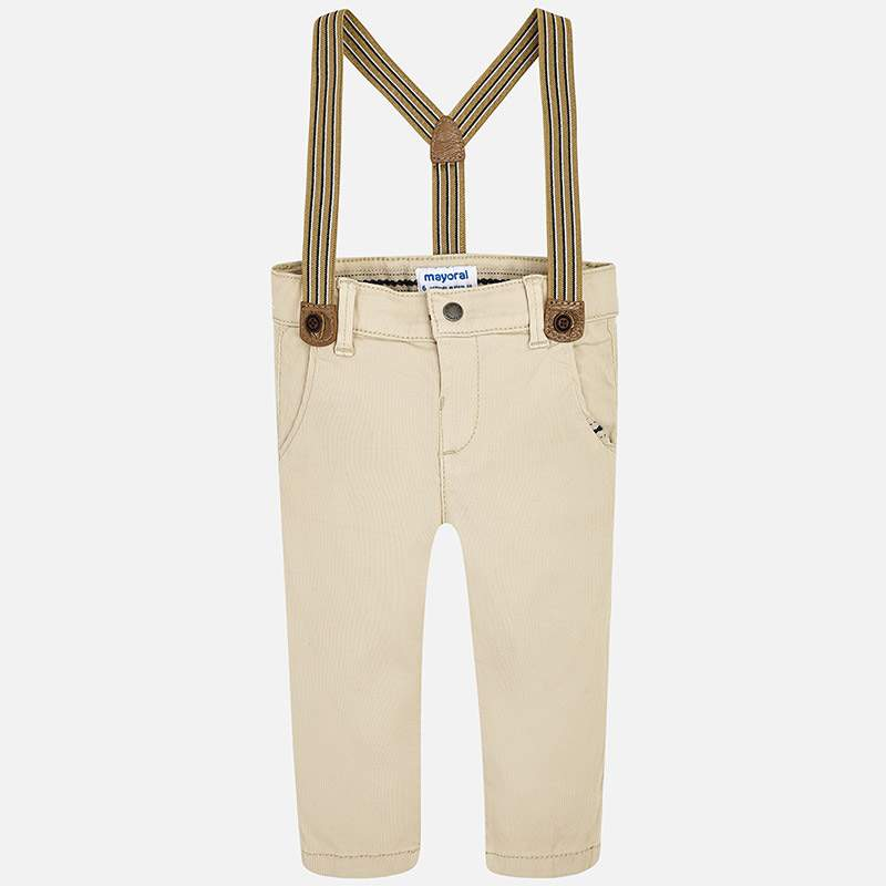 Mayoral -t- Camel chinos/Light braces 1542