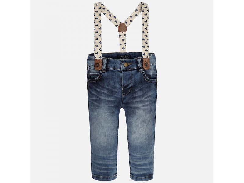 Mayoral -t- Soft Jeans/ braces 1537