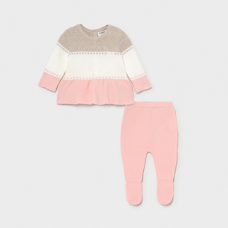 Mayoral -c- Pink Knit Candy Two piece 1561