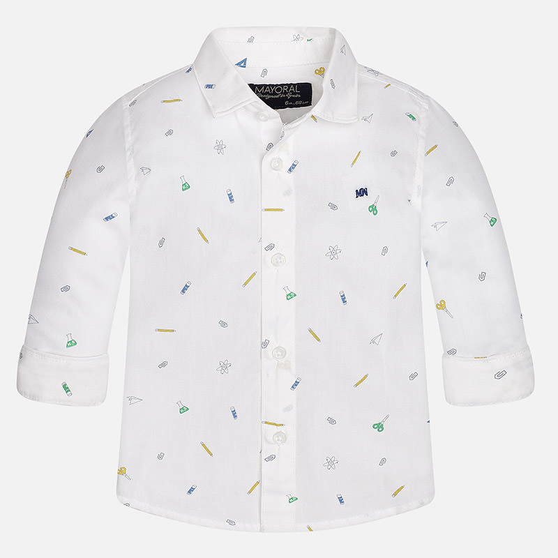 Mayoral -t- White Pencil shirt 2149