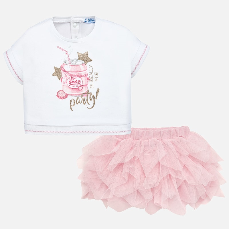 Mayoral A Pink tutu set 1950