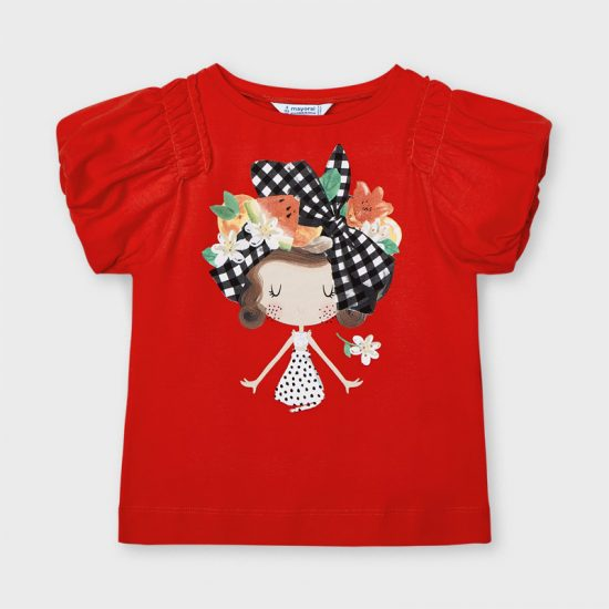 Mayoral Red Doll top 3002