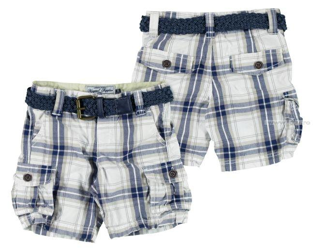 Mayoral Check Shorts 3229