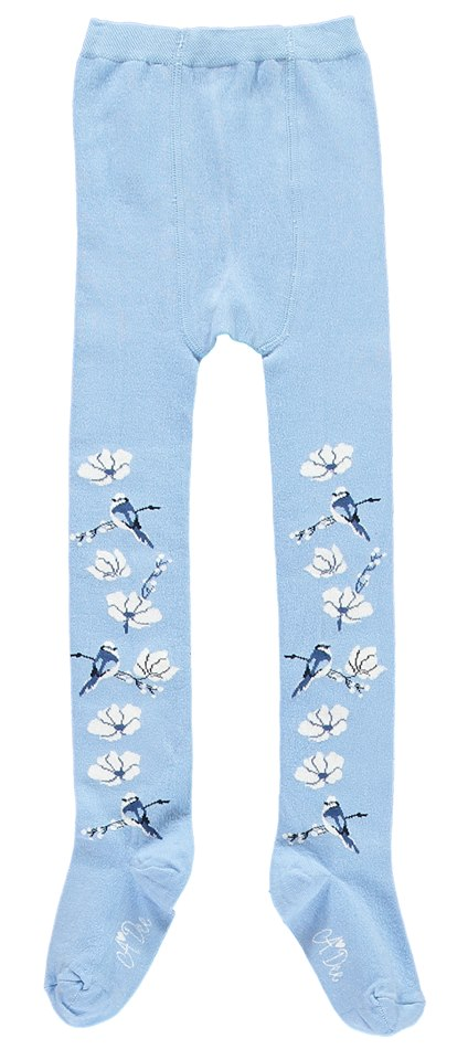 A-Dee Blue Bird Powder Blue Tights