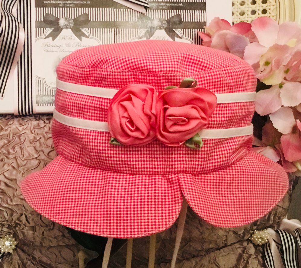 BBs -a- Sun Hat with Tie BB-20