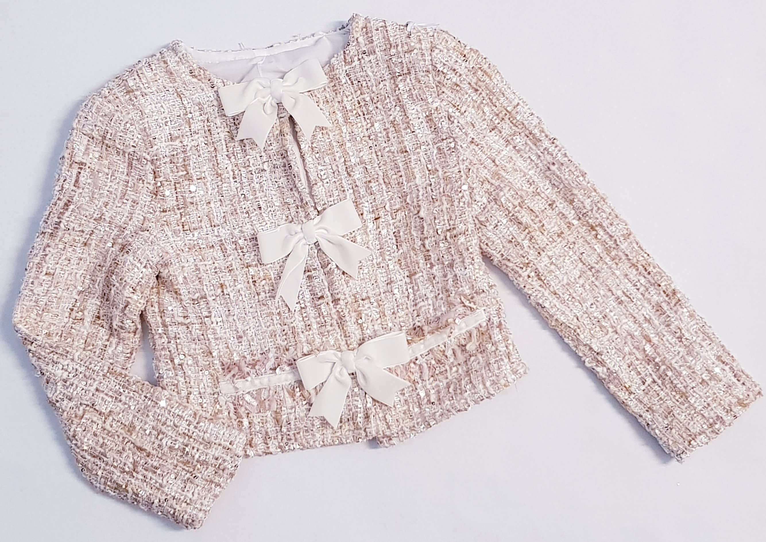 Daga -b- Gold Tweed Jacket