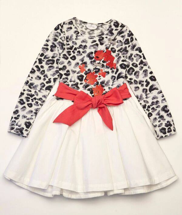 A-Dee -w- Dana Snow Leopard dress W161713
