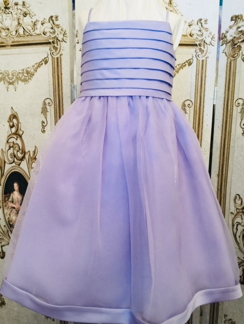 Sarah Louise -b- Lilac Flowergirl dress