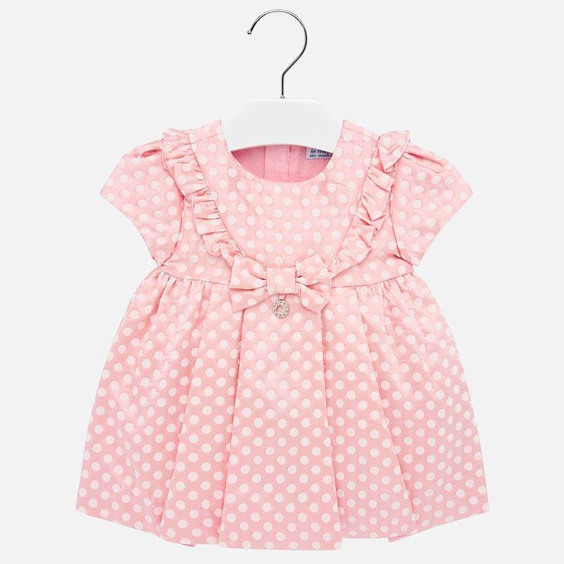 Mayoral -p- Spot Pink dress 2915