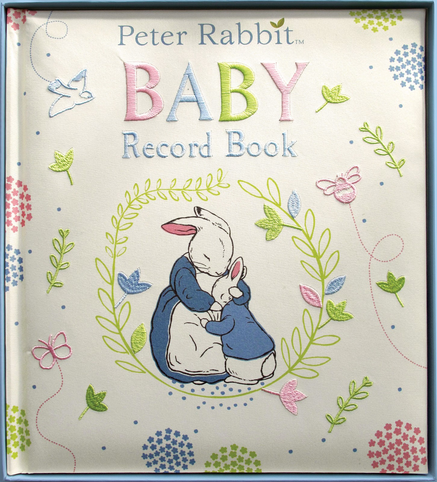 Beatrix Potter Baby record book