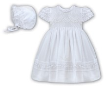 Sarah Louise - Girls Christening or special occasion dress & bonnet BB198Y