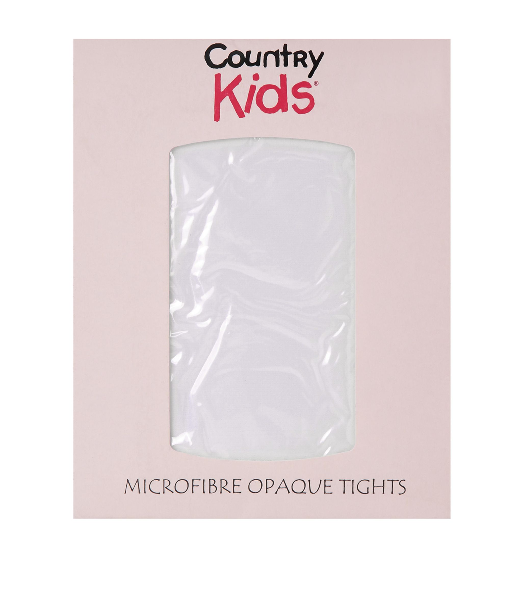 BBs -a-  Country Kids White Opaque Tights