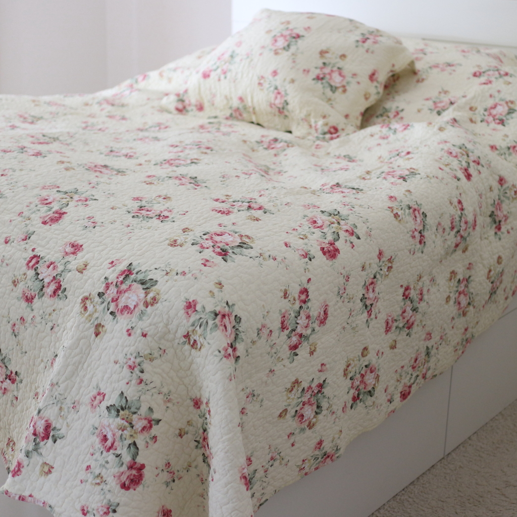 Powell Craft Bellafloral double bedspread