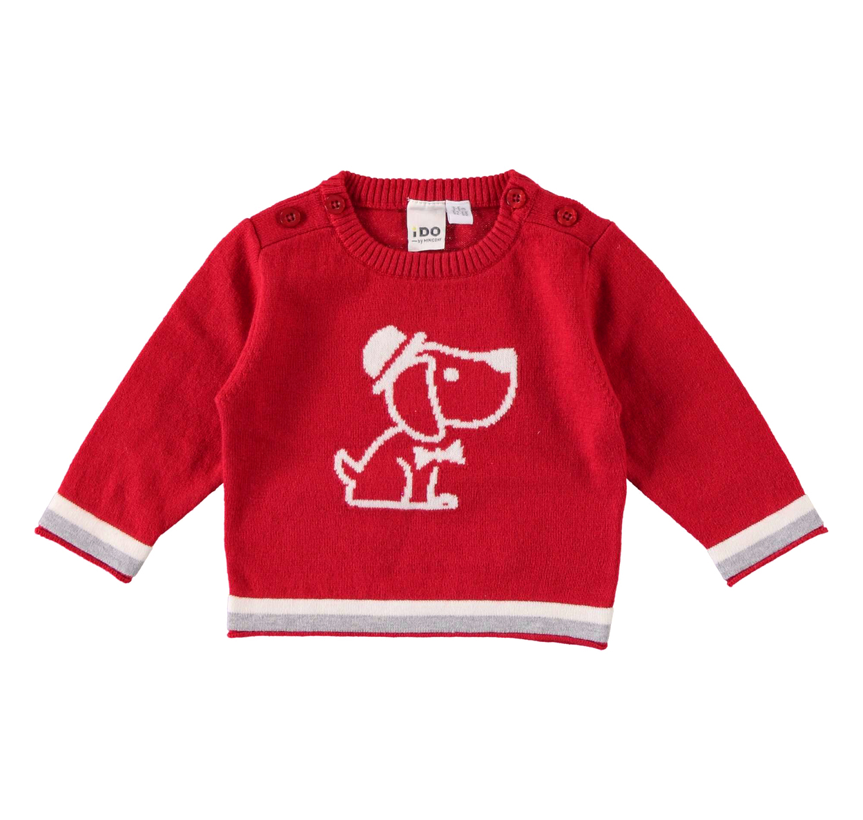 Dodipeto -i- T Red snoopy jumper IDO6