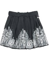 Le Chic -l- Navy Houses Skirt