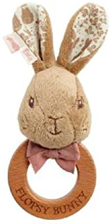 BBs -f- PO1788 Flopsy Rabbit Ring Rattle