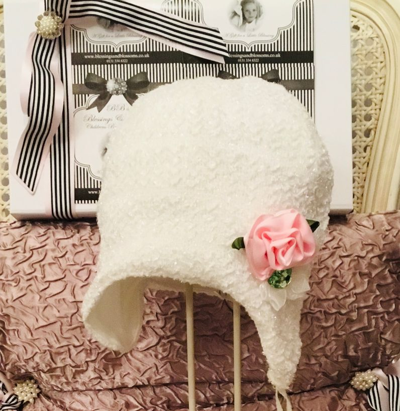 BBs -a- Sparkle blossom hat