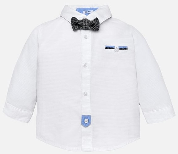 Mayoral -t- Grey Bow tie White shirt 2128